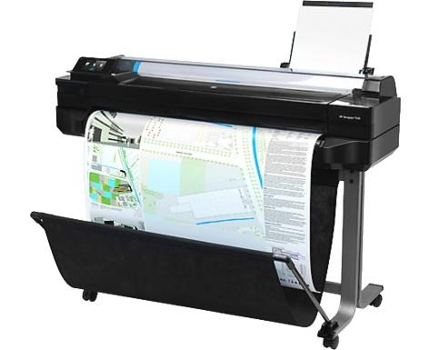 Плоттер HP для широкоформатной печати