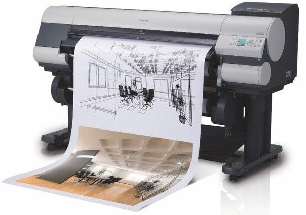 Печать чертежей в Москве
