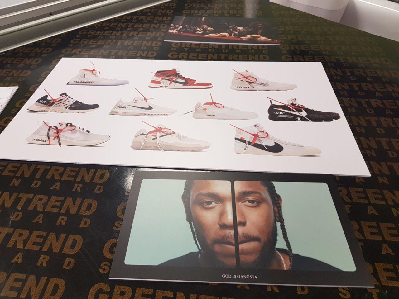 Постеры на ПВХ 3 мм